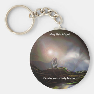 Where Angels Fear To Tread. Basic Round Button Keychain