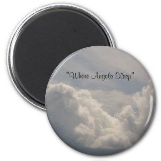 Where Angels Sleep Magnet