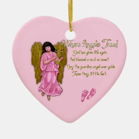 Where Angels Tread_Birth Heart Ornament