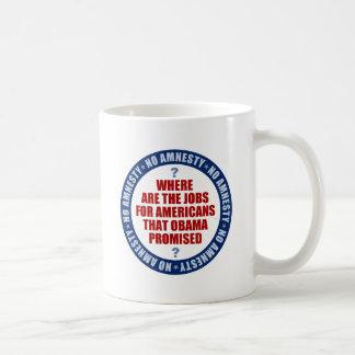 Where Are The Jobs Coffee Mug