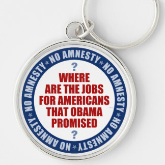 Where Are The Jobs Keychain