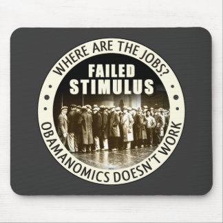 Where Are The Jobs? Mouse Pad