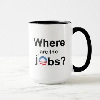 Where are the Jobs?? Mug