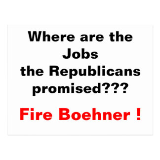 Where are the jobs? postcard
