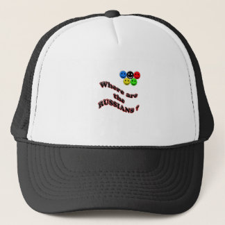 where are the russians trucker hat