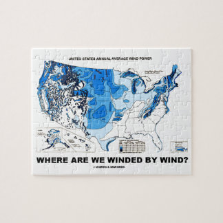 Where Are We Winded By Wind? (Wind Power) Jigsaw Puzzle
