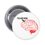 Where are you? pinback buttons
