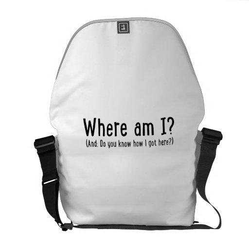 Where at the I Messenger Bag