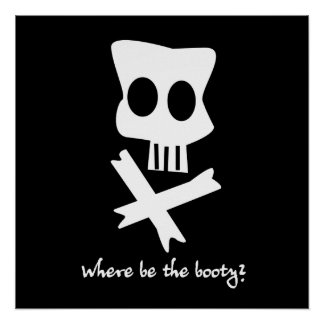Where Be The Booty? Poster