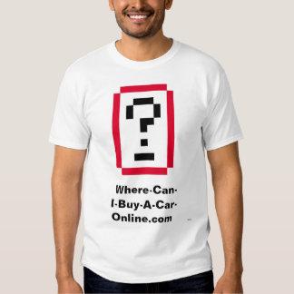Where-Can-I-Buy-A-Car-Online.com Logo T-Shirt