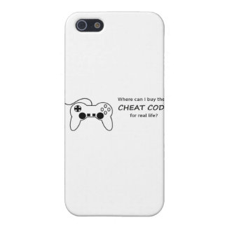 Where can I buy the cheat codes for real life? iPhone SE/5/5s Cover