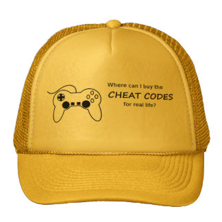 Where can I buy the cheat codes for real life? Trucker Hat