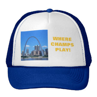 WHERE CHAMPS PLAY! TRUCKER HAT