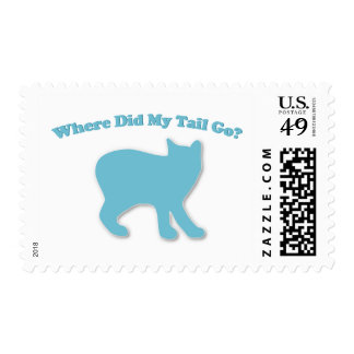 Where did my tail go? postage stamp