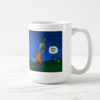 Where did the dinosaurs go mug