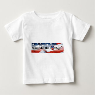 Where did the JOBS go? no Obama Baby T-Shirt