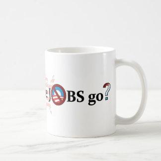 Where did the JOBS go? no Obama Mug