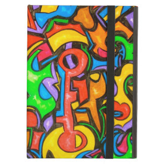 Where Did You Hide The Candy? - Abstract Art Case For iPad Air