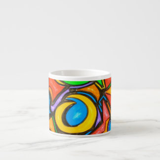 Where Did You Hide The Candy-Abstract Art Espresso Espresso Cup