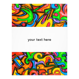 Where Did You Hide The Candy? - Abstract Art Flyer