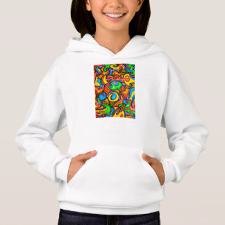 Where Did You Hide The Candy? - Abstract Art Hoodie