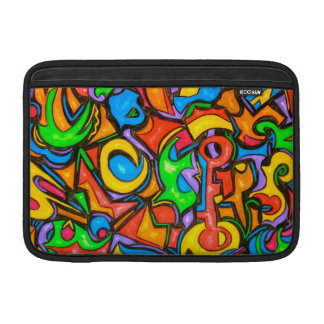 Where Did You Hide The Candy? - Abstract Art MacBook Air Sleeve