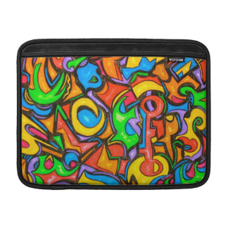 Where Did You Hide The Candy? - Abstract Art MacBook Sleeve
