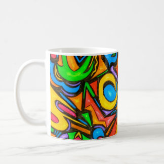 Where Did You Hide The Candy?-Abstract Art Mug