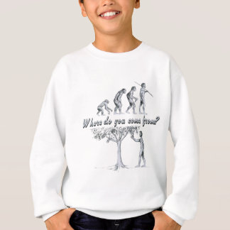 Where do you come from? sweatshirt