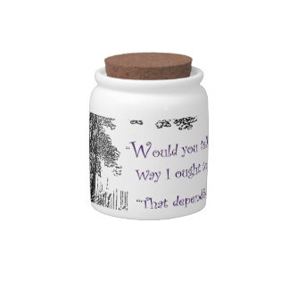 Where Do You Want To Go Candy Jar