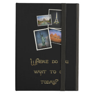 Where Do You Want to Go? iPad Cases