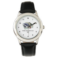 Where Does Your Fault Lie? Geology Humor Wrist Watches