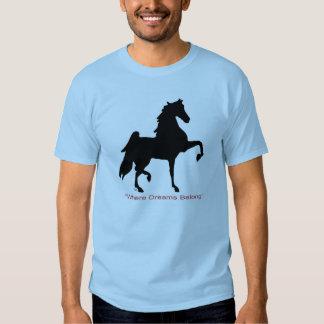 Where Dreams Belong T-shirt