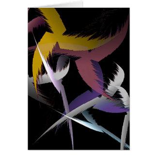 Where eagles dare. greeting card