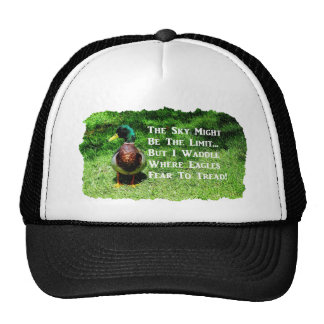 Where Eagles Fear To Tread Trucker Hats