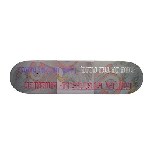 Where Eagles Soar Custom Skate Board