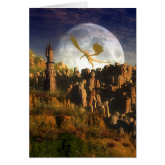 Where Fantasy Begins Greeting Cards