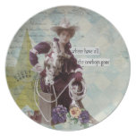 Where Have All the Cowboys Gone Cowgirl Plate