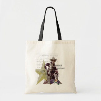 Where Have All the Cowboys Gone Cowgirl Tote Bag