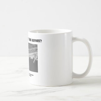 Where Have I Seen This Before? Tomato Leaf Coffee Mugs