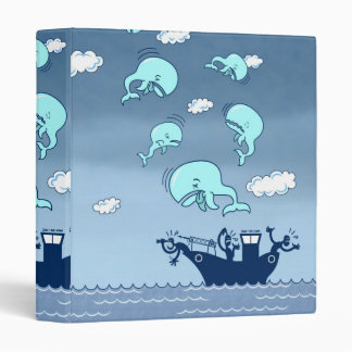 Where Have the Whales Gone? 3 Ring Binder