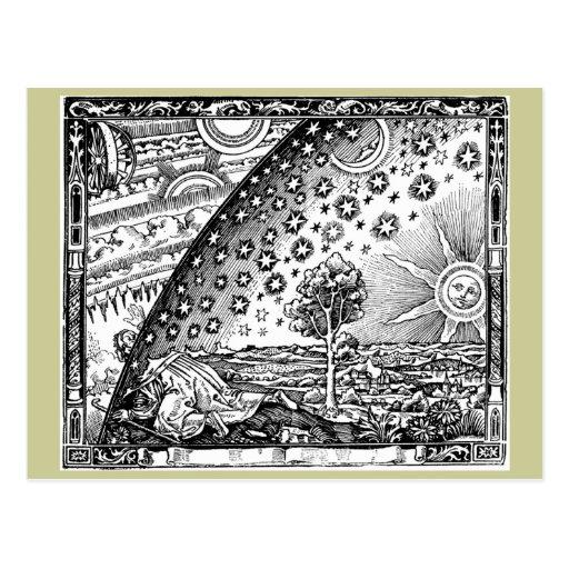 Where heaven and Earth meet Postcard