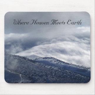 Where Heaven Meets Earth Mouse Pad