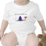 Where I Fall On The Bell Curve I Am Here T-shirts