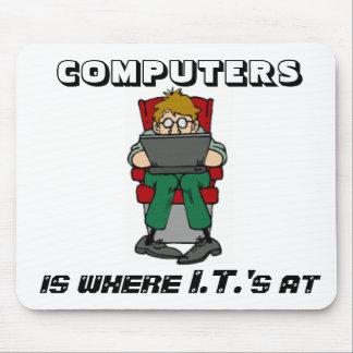 Where I.T.'s At Mousepad