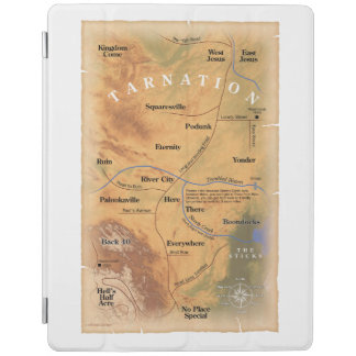 Where in Tarnation? (Funny Map) iPad Smart Cover