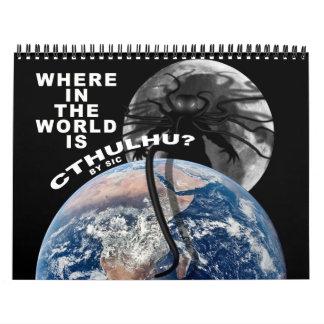Where in the World is Cthulhu? Calendar