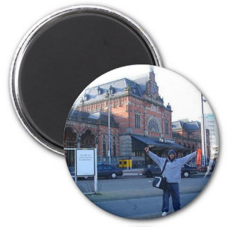 Where in the world is Evan Marsh 2 Inch Round Magnet