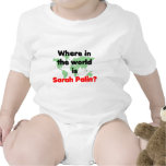 Where in the World is Sarah Palin? Bodysuits