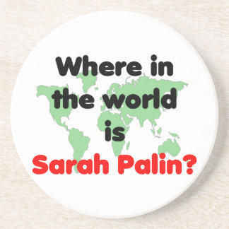 Where in the World is Sarah Palin? Coaster